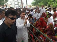 Rahul Gandhi Holds Padyatra in Rajasthan in Build-up to Monsoon Session