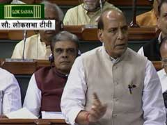Hafiz Saeed Congratulated Congress Government on 'Hindu Terror': Rajnath Singh