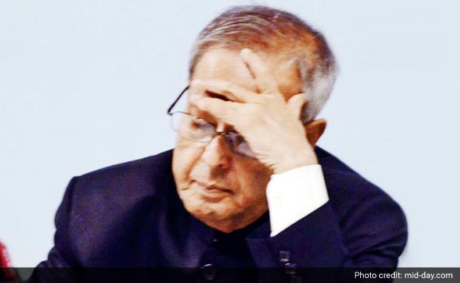 President Pranab Mukherjee Rakes Up 5 Lakh Phone Bill