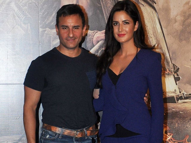 Saif on Katrina Kaif: Anybody Would be Lucky to Have Her as Girlfriend