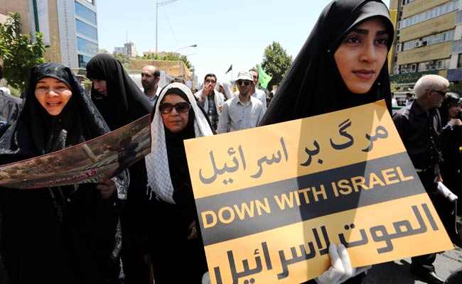 Saudi Arabia Joins Israel as Target of Jerusalem Day Protests