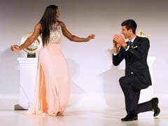 Novak Djokovic, Serena Williams Dance to 'Night Fever' at Wimbledon Champion's Dinner