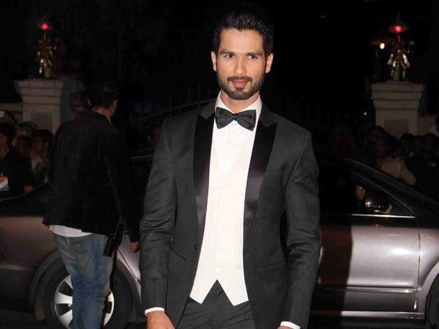 What Shahid Kapoor Did the Weekend Before His Wedding