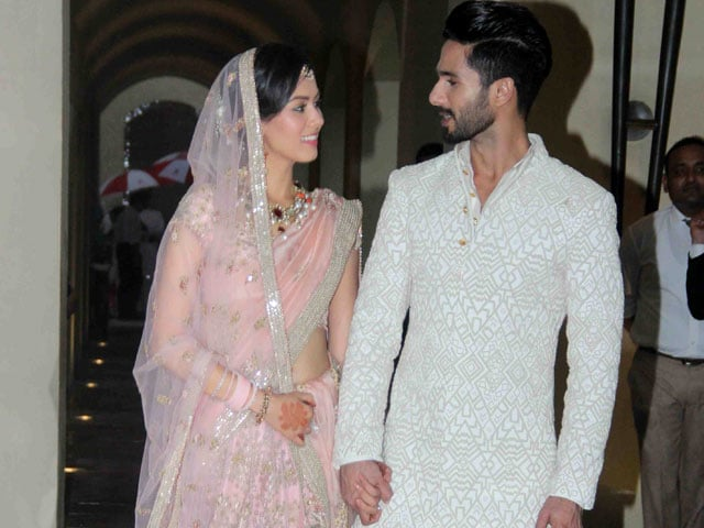 Shahid Kapoor Marries Mira. Bollywood Wishes 'A World of Happiness'