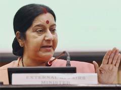विदेश मंत्री सुषमा स्वराज के ट्वीट से राजनीति जोरों पर
