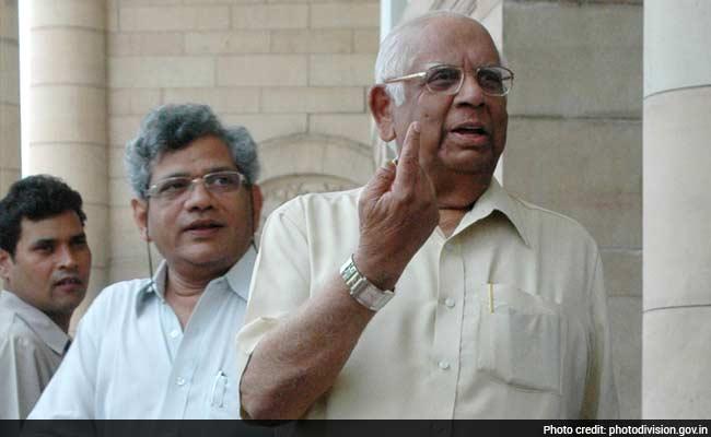 somnath chatterjee sitaram yechury