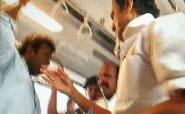 Joyride That Wasn't. Video Shows DMK's Stalin Slapping Metro Passenger