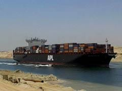 Giant Ship Stuck In Suez Canal Moves In Right Direction, Not Afloat Yet