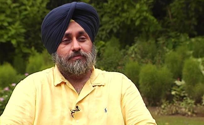 Don't Brand Punjabis as Drug Addicts: Deputy Chief Minister Sukhbir Singh Badal