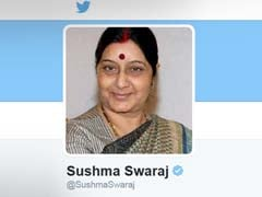 On Twitter Handle, Sushma Swaraj Back as 'Foreign Minister'