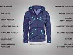 Indian-Origin Couple Invent 'Swiss Army' Jacket