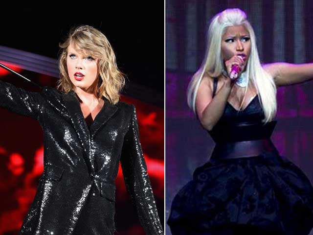 Taylor Swift vs Nicki Minaj in Tweet Exchange on VMAs