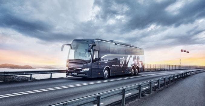 Volvo Buses to be Exported From India