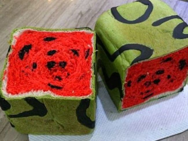 Why the World Is Going Crazy Over Watermelon Bread