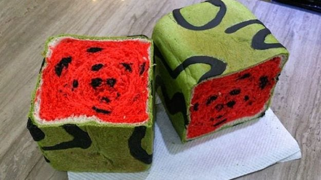 Why The World Is Going Crazy Over Watermelon Bread Ndtv Food