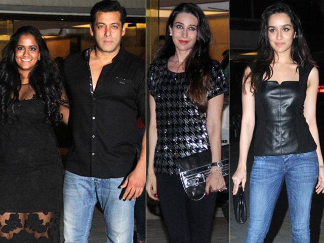 Salman Invites Shraddha, Karisma to Arpita's Birthday Bash