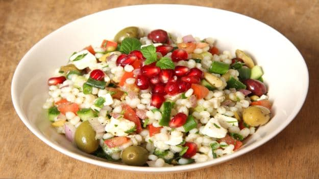 barley pomegranate salad