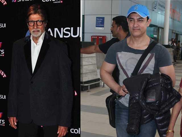 Invited to Chiranjeevi's Birthday: Amitabh Bachchan, Aamir Khan