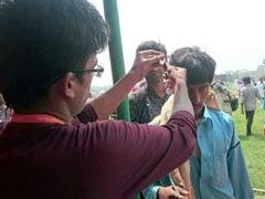 पटना स्वाभिमान रैली : 'DNA Sample' के लिए लोगों ने कटवाए बाल
