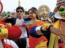 <i>Chennai Express</i> is Two: SRK, Deepika Trade Tweets