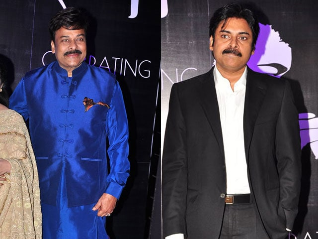 Pawan Kalyan Greets Elder Brother Chiranjeevi on 60th Birthday
