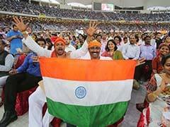 Thousands of Indians in Dubai Roar Approval Through PM Modi's Speech