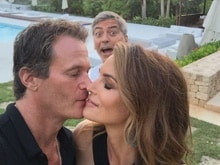 George Clooney Just Ruined Cindy Crawford's Pic With Husband