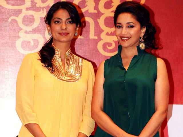 Juhi Chawla: Was Apprehensive About Working With Madhuri in Gulaab Gang