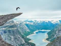 Man Does Back Flip on Edge of a Norway Cliff. Can You Handle This?