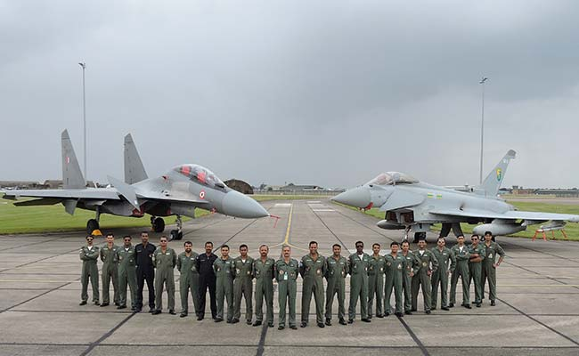 Ready For Two-Front War, There's A Plan B, Says Air Force Chief