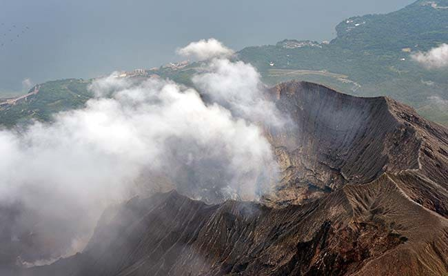Japan Issues Alert After Volcano Erupts Causing Multiple 'Explosions'