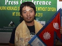 Japanese Climber With 1  Finger Nears Everest Summit Again