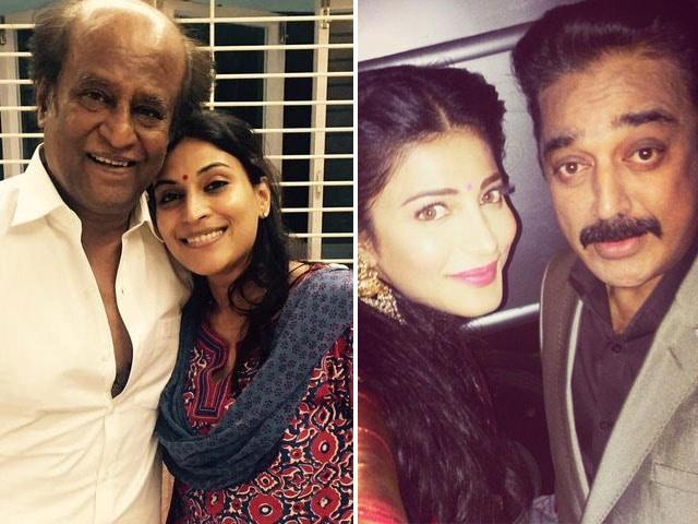 Rajinikanth vs Kamal Haasan Inherited by Their Daughters