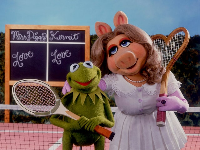 Kermit, Miss Piggy in Shock Split. What is the World Coming to?