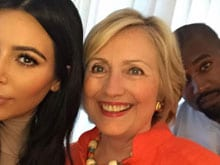 Kim Kardashian's 'Politically Correct' Selfie With Hillary Clinton