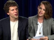 Kristen Stewart Asks Jesse Eisenberg Sexist Questions, Scores a Win
