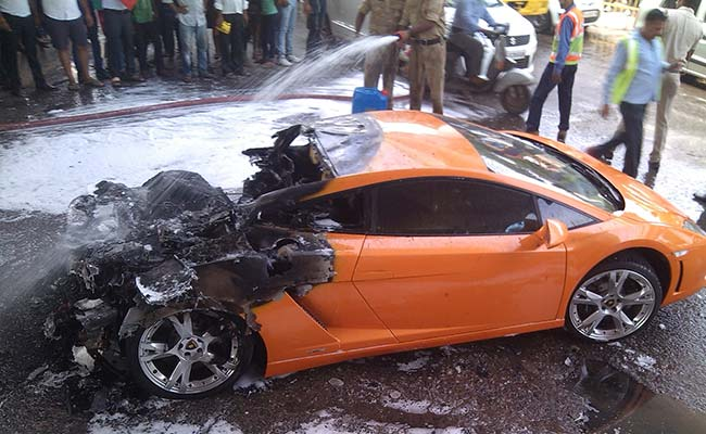 Lamborghini Gallardo Catches Fire In Delhi What Could Be The