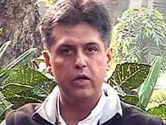 In Facebook Row, Twitter War Between Congress's Manish Tewari And BJP