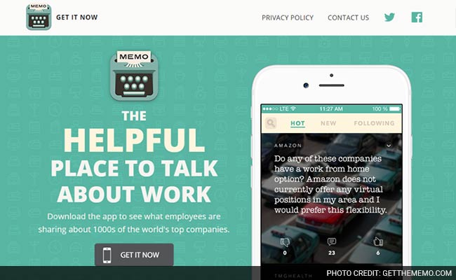 new app memo lets you vent about work anonymously