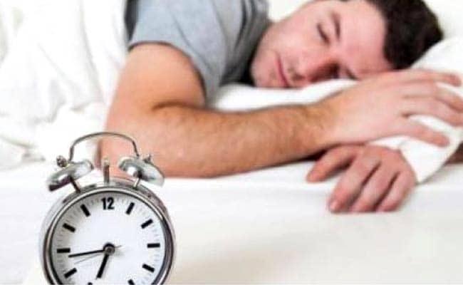 men sleep