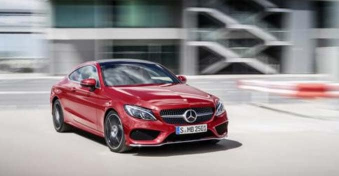 Mercedes benz c class coupe revealed ndtv carandbike for 2015 mercedes benz c class coupe