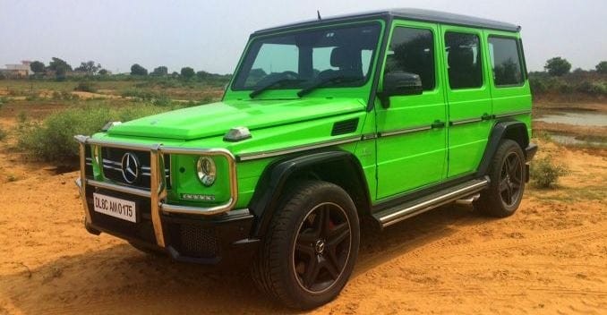 Driving the Alien Green Mercedes-AMG G63 Crazy Colour Edition