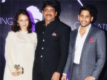 Nagarjuna Celebrates 56th Birthday in Thailand