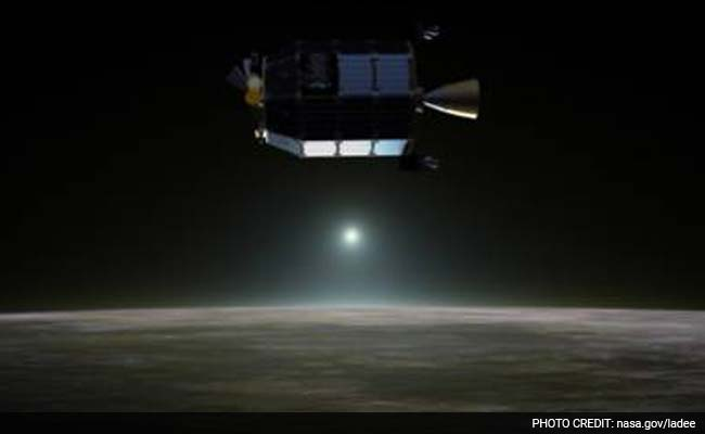 NASA Spacecraft Finds Glowing Neon Gas on Moon