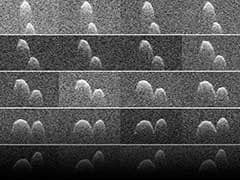 NASA Captures Earth Flyby of 'Space Peanut'