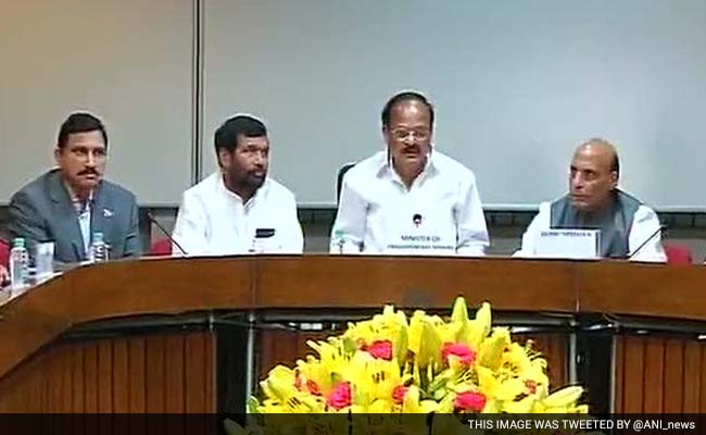 No Work, No GST in Parliament Session; NDA Lawmakers on Protest March