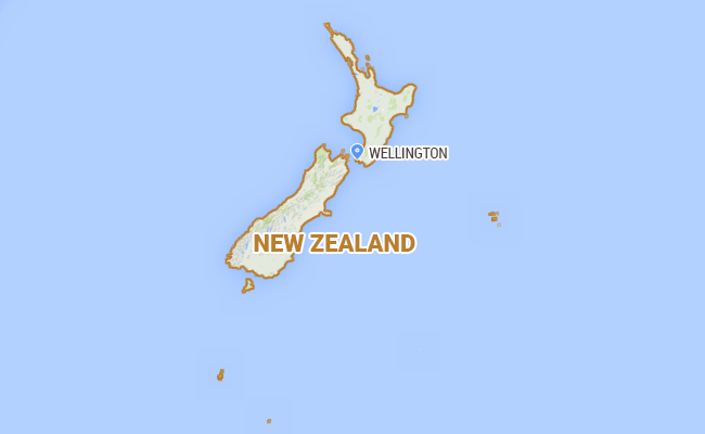 Magnitude Earthquake Hits New Zealand City US Geological Survey - After the earthquake new map of us