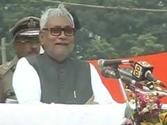 In Independence Day Speech Nitish Kumar Says Bihar is Developing