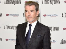Pierce Brosnan Packs Knife in Luggage, Stopped at Airport
