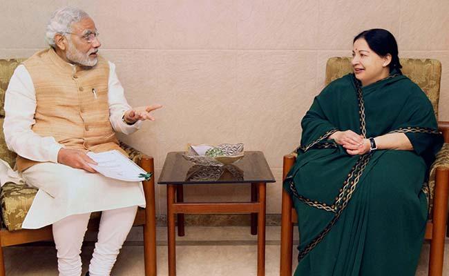 Jayalalithaa's Demise Has Left A Huge Void In Indian Politics: PM Narendra Modi